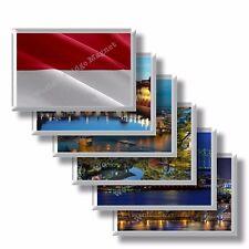 MC - Principato di Monaco - frigo calamite frigorifero souvenir magneti