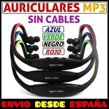 AURICULARES REPRODUCTOR MP3 CON RADIO FM DIADEMA PARA DEPORTE RUNNING CORRER