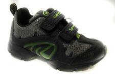 geox b5321c 00411 c0749 grigio blu scarpa da bambino chiusura a strappi shoe
