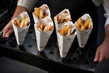 TopStyle Chip & Dip Newsprint Cardboard Cones