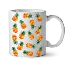 Pinapple Fiesta NEW White Tea Coffee Mug 11 oz   Wellcoda