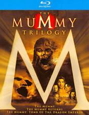 The Mummy Trilogy (Blu-ray Disc, 2011, 3-Disc Set) Brendan Fraser Rachel Weisz