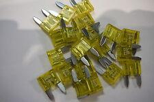 20 AMP MINI LAMA AUTO Fusibili 20A MINI BLADE fuses (confezione da 20)