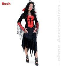 Rock Ricarda Kostüm Basic 36-46 Hexenrock schwarz Karneval Halloween 1211550G13