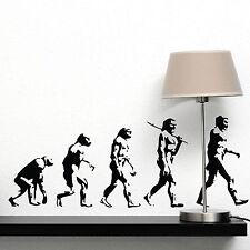 Darwin Evolution of Man Wall Sticker Vinyl Art Decal