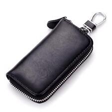 Key Holder Genuine Cow Leather Bag Wallet Fashion Multi Function Car Key Case