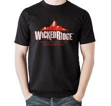 Wicked Ridge Tenpoint Crossbow Archery Bow Hunting Deer Black T-shirt Size S-5XL