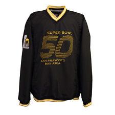 NFL Men's Super Bowl 50 V-Neck WindBreaker Jacket - Collectible