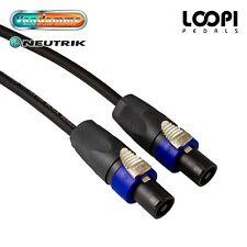 PA Speaker Van Damme Cable Speakon / Guitar Amp Head / Cab Lead