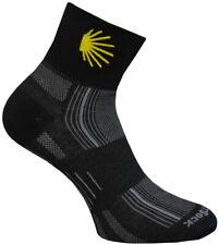 WrightSock Laufsocke, Wandersocke -anti-blasen- Socke schwarz - Stick Jakobsweg