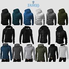 Men's Multi Style Slim Fit Casual Jumpsuit Jacket Coat Top Outwear Jumper