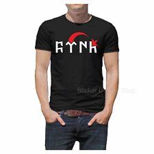 Göktürk Türk T-Shirt Druck Baumwolle Fruit of The Loom Istanbul Türkiye Orhun