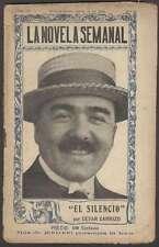 Cesar Carrizo 1º Ed El Silencio 1919 Little Book L@@K