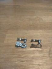 30 Pcs//bag Stainless Steel Bike Chain Master Link Joint Connector WjHWf OcOgU