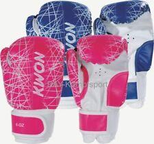 Kwon Kinder Boxhandschuhe NEON 6 oz uz pink rosa blau Unzen klein Kids mini neu