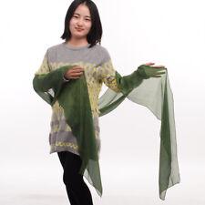 Bridal Women's Shawl Party Scarves Pirate Medieval Renaissance Linen Large Sash