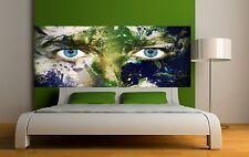 Papier peint tête de lit vue sur le monde 3667 Art déco Stickers