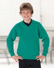 Jerzees Schoolgear V-Neck Sweatshirt (272B)
