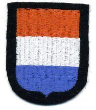 scudetto dei volontari olandesi DUTCH volunteer shield Ärmelschild Freiweillige