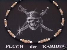 925 Silber Kette Halskette Collier Ebenholz Holz Männer Herren Surfer Biker