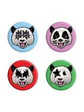 Anstecker-Paket Kiss Pandas