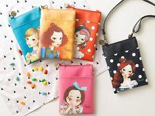 [FASCY] TINA Women Mini Cross Bag 130 x 190 mm Cute Character Shoulder Handbag