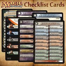 MTG All Checklist Cards - Innistrad / Dark Ascension / Shadows Eldritch / Ixalan