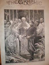 Matrimonio Príncipe Liechenstein Miss Fox Kensington 1872