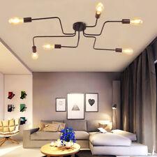 Vintage Industrial Ceiling Pendant Lighting Chandeliers Lamp Fixture (4/6/8 arm)