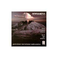 Hovhaness: Mount St. Helens Symphony / City of Light Symphony [Imp... -  CD YOVG