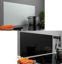 Spritzschutz Wandverkleidung Küchenrückwand Glasrückwand Weiß Schwarz 40 X  80 Cm