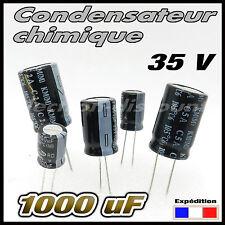 35/1000# 2 à 20 pcs Condensateur chimique 1000µF 35v  105°  - capacitor 1000uf
