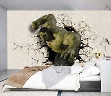 3D Hulk crack 910 WallPaper Murals Wall Print Decal Wall Deco AJ WALLPAPER