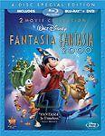 Fantasia Anthology (4-Disc Blu-ray/DVD, 2010)OOP/Rare.Disney Classic.Fantasi2000
