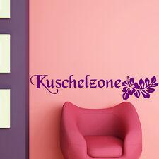 Wandtattoo Kuschelzone Autotattoo Schriftzug XXL +86+