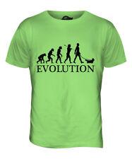 SKYE TERRIER EVOLUTION OF MAN MENS T-SHIRT TEE TOP DOG LOVER GIFT WALKER WALKING