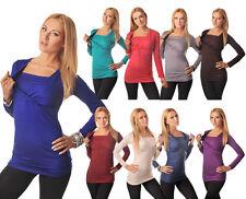 2in1 Premamá & Lactancia Top Embarazo Lactancia Size 8 10 12 14 16 18 7007