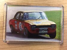 BTCC Ford Escort Mk1 Alan Mann ~ Iconic Race Car ~ Fridge Magnet / Mini Frame