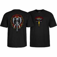 Powell Peralta Skateboard Shirt Mike Vallely Elephant Black