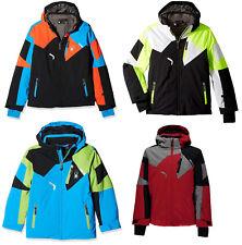 Spyder Boys Kids 3M Thinsulate Insulated Watertight Leader Snow Ski Jacket NEW