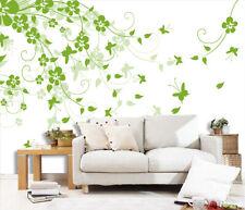 3D Green Leaves 765 Wall Paper Decal Dercor Home Kids Nursery Mural  Home