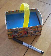 Mattel 1950 Easter Basket Music box Rare crank