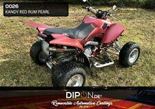 Kandydip ® Sprühfolie Kandy Red Rum Pearl 2k Set Auto Auto Pellicola CERCHI DIP PAINT