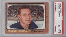 1966-67 Topps #87 Wayne Hillman PSA 6 EX-MT New York Rangers Hockey Card