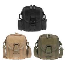 Waterproof 1000D Nylon MOLLE Belt Waist Bag Phone Pocket Outdoor EDC Pouch
