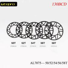 Litepro Folding Road Bike Narrow-Wide Chain Ring 130BCD 50 52 54 56 58 Chainring