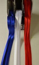 1m Duchesse Schrägband 40/20mm Einfassband Viskose gefalzt Abschlussband