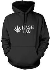 Hash Tag Weed Cannabis Unisex Hoodie