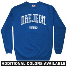 Daejeon Korea Men's Sweatshirt - Crewneck S-3X - Gift South Korean Citizen FC KR