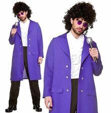 Adult 80s MUSICIAN Purple Rain Prince Pop Rock Star Legend Fancy Dress Costume